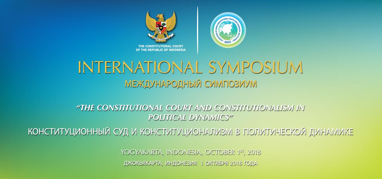 International Symposium - Yogyakarta, Indonesia