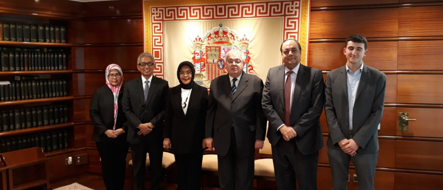 Courtesy Visit by the Justice of the Indonesian Constitutional Court to the Spanish Constitutional Court
