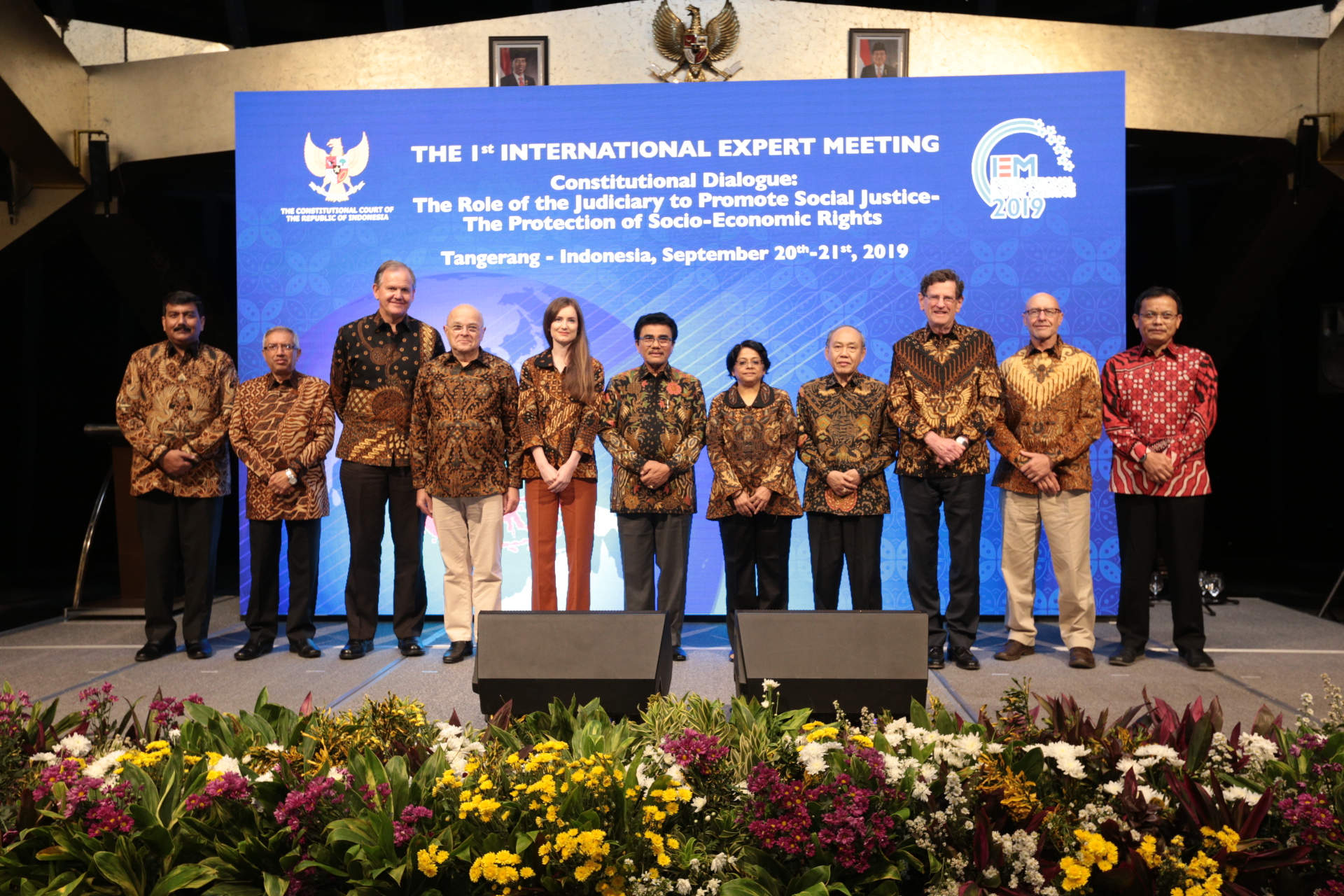 The Constitutional Court of the Republic of Indonesia conducted the 1st International Expert Meeting