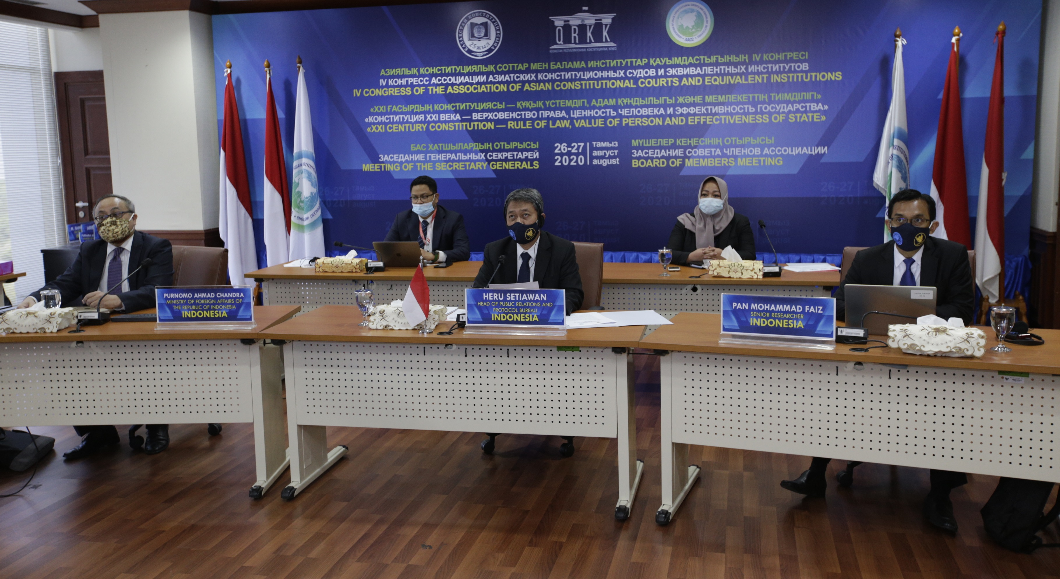 Indonesia Reports AACC Developments as Permanent Secretariat for Planning and Coordination