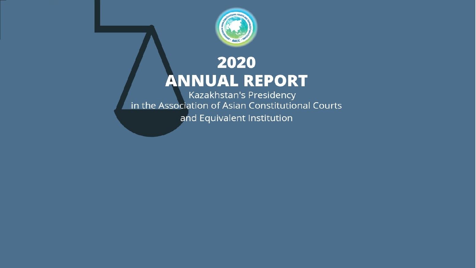 Annual Report 2020 - Kazakhstan's Presidency in the AACC